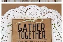 Thanksgiving | Give Thanks Holiday Ideas / Thanksgiving inspiration, Thanksgiving cards, Thanksgiving crafts, Thanksgiving DIY, Thanksgiving table setting, free printable Thanksgiving, kids Thanksgiving, Thanksgiving gift ideas, Thanksgiving favor ideas