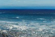 Alex Morton / Alex Morton artist painter art st ives cornwall paintings seascape sea coastal landscapes surfer surfing for sale