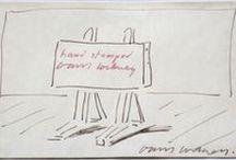 David Hockney / David Hockney artist, art, prints, etchings, drawings for sale