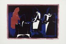 Modern British Art / Modern British Art, artists, paintings, prints, Lynn Chadwick, Maurice Cockrill, David Hockney, Henry Moore, Victor Pasmore, for sale