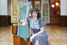 Vintage love / Loving those stylish clothes and rides of the thirties, fifties & sixties!