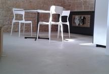 Interior / Pavimenti e superfici di interni realizzati con Microbond. #Interior #Architettura #Design