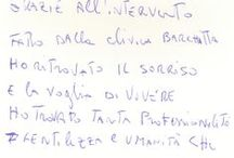 Clinica Barchitta by people / Scopri cosa dicono le persone che si sono affidate a noi! ** Here is some posts hand written by our patients! ** #smile #dentalhealth
