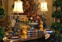 ~Old World Tuscan Style~ / One of my all time favorite decorating styles / by Sherri Ketchum