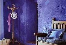 shades of violet....