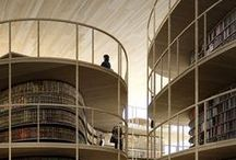Library architecture / Libraries that inspire us.