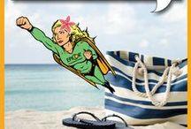 EPIC Superhero Adventures! / Follow EPICMan and EPICWoman on their Superhero Adventures to #Immune health!