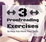 Editing and Proofreading / Editing and proofreading resources.