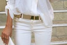 White Jeans / by Liv Taylor