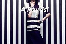 ¡A rayas! / Un clásico de la moda, diseño y decoración. / by Blank Estudio