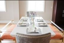 Dining / Breakfast areas, bars, and dining rooms are where families and friends gather to break bread and share stories that become memories. Make your dining spaces special!