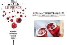 Thomas LE PRINCE pétille! / #Petillant de #PommeCassis #ThomasLePrince Des Bulles et du Fruits et rien d'autre.  #Sparkling Juice #apple blackcurrant