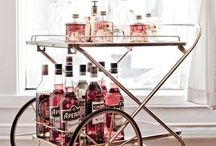 Bar carts & Shakers