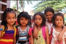 Sponsor A Child/Class / Help the under privileged school children of Siem Reap's receive education and proper school meals. Get in touch with us to help us sponsor a child's education and meals. You can help an entire class by making a small donation.  http://feedingdreamscambodia.org/sponsor-child.php