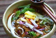 Laksa Recipes / www.christinaarokiasamy.com