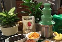 St. Patrick's Day | Sephra / Lots of fun food and party ideas to help celebrate St. Patty's Day! It's a wild time for the Irish! But it doesn't stop there. We found a ton of fun St. Patrick's Day ideas for the Leprechaun in all of us!