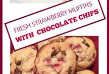 Muffins | Sephra / We found a ton of yummy muffins on Pinterest - some healthy muffin recipes too. Love me a good healthy muffin for breakfast! Healthy mini - muffins are great little lunch box or after school snacks, too! Yum! Thumbs up to muffins!