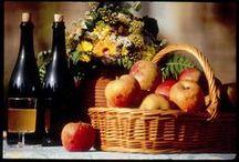 Thomas Le Prince produit son cidre / En Savoie, nous n'avons pas reelement de production de pommes a Cidre. Nous produisons des pommes a couteau (pour manger en frais) et des pommes a jus (type croison). Cependant notre grande diversite de varietes nous pernets de selectionner pour faire des assemblages et d`obtenir des cidres d`exception.