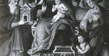 CORAIL DANS LES ŒUVRES D'ART. / Collier de corail autour du cou de l'Enfant Jésus (ou tout autre bijou), ou rameau dans la main du petit saint Jean dans les œuvres d'art jusqu'au 17 e siècle.