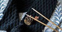 * J'apprends à tricoter *