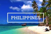 / PHILIPPINES / Visiting the Philippines is big fun. Perfect beaches. Friendly locals. Beautiful nature. Plus, it's a cheap country to travel, you'll get a great value for your money.  I spent more than one year in the Philippines, here are all my articles about this amazing country: www.justonewayticket.com/blog/philippines