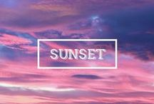 / SUNSET / A collection of stunning colorful sunsets from places all over the world. Some images are taken from my travels, others are repinned from other boards are from the Internet. Copyright to their owners. #travel #sunset #sunrise #colors #sky / by Just One Way Ticket Travel Blog