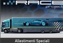 Race Project / Allestimenti speciali - Carrozzeria industriale - Autonegozi Alimentari - Semirimorchi Motorhome - Mobile Shops - Special Equipment - Race Support - Hospitality  Via Schiave, 5 - Paitone (BS) · http://www.maccarinelli.it  http://www.maccarinelli.it/raceprj/index.php