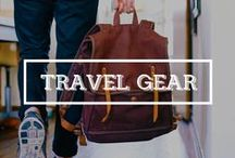 / TRAVEL GEAR / My travel gear, the things I can't leave my home!! And the things I want to buy for my next travel trip! #travel #gear #backpack #luggage #nomad