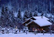 Christmas Lodge / Please pin respectfully