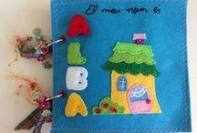 Infantil / Elementos infantiles decorados con scrap