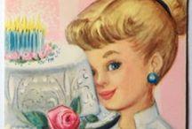 Vintage birthday / Please pin politely