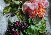 Ribbon Flower Art
