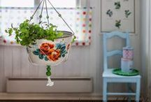 Vintage upcycled crafts