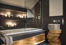 Baños / Baños y tendencias en diseños, materiales y estilos.