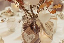Christmas and winter weddings and parties / Winter and Christmas themed weddings, parties and special events. Center pieces, vases, deco, chair covers, trees. Affinity event decorators, Swansea, Wales