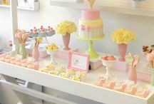 Baby shower / Ideas and Inspiration for baby showers and christenings.  We hire venue decorations in South Wales. Affinity event decorators, swansea