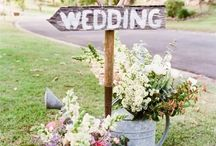 Rustic themed wedding ideas and inspiration / Rustic themed wedding and party ideas and inspiration. Chair covers, centrepieces, props. Affinity event decorators, swansea, wales