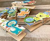 Pinzas decoradas con scrap