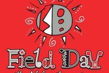 School Field Day / Sports Day T-Shirt Design Ideas