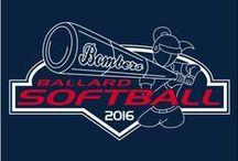 Softball T-Shirt Ideas / Softball team designs for custom t-shirt screenprinting.