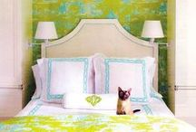 QUADRILLE, CHINA SEAS & ALAN CAMPBELL / by Stephanie Shaw Design