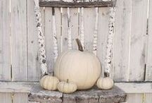 In the Mood for Autumn / Inspiration for fall decor