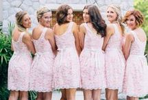 bridesmaids dresses. / a wedding is such a girl thing.  / by margot gaines