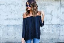 Fashion / Street styles and outfits every girl could wear at school mixed with beautiful dresses.