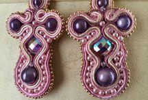 Soutache projects / Soutache earrings