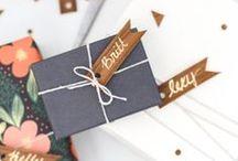 Packing (?) - Incartamenti (?) / Idee regalo per incarti e biglietti di auguri