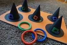 Halloween / Spooky snacks, ghostly games and crazy craft ideas for Halloween parties.