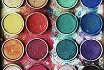 Colour / Colour palette inspiration and ideas
