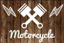 Motorcycle / #Rétro #Caféracer #Roadster