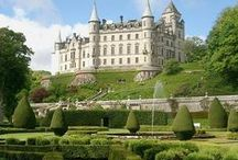 Zámecké zahrady / Castle and Gardens, Schloss und Gärten, Château et Jardins, Castillo y Jardines, Castelo e jardins, القلعة وحدائق, Замок и сады, 城堡和花园,